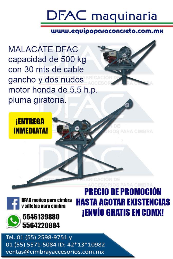 MALACATE DE 500 KG