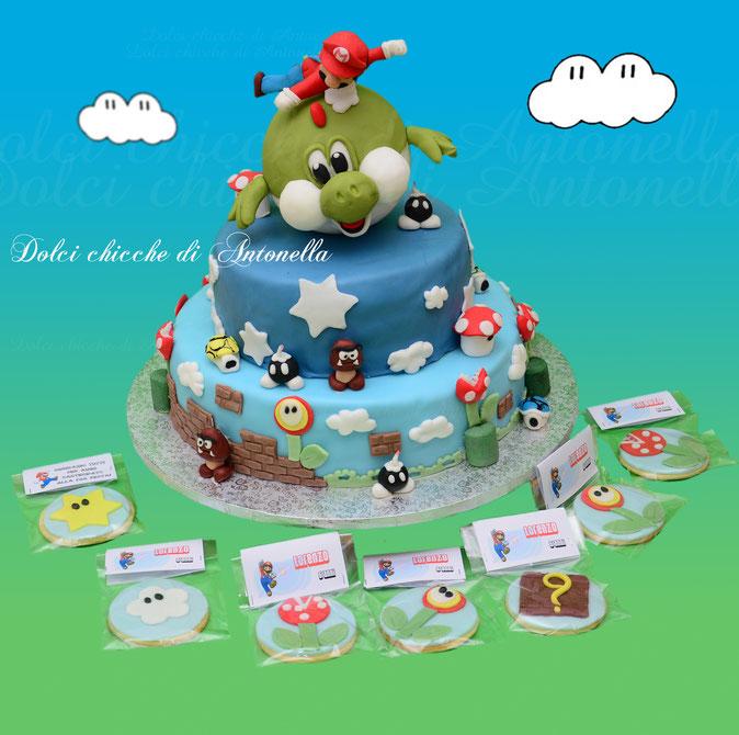 torta mario bros- dolci-la spezia-liguria-feste-eventi-compleanni-bimbi