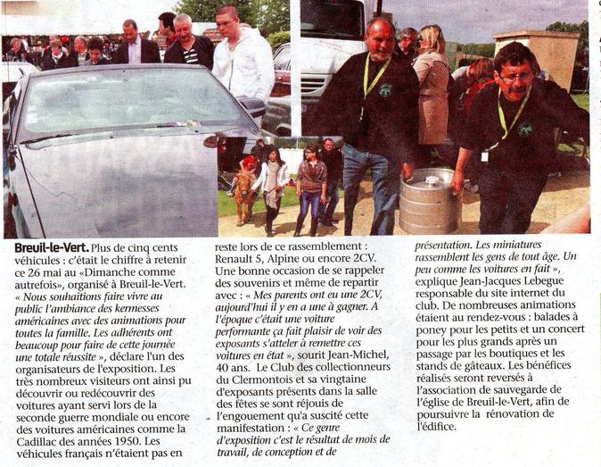 29 mai 2013 - Le Bonhomme Picard - Un dimanche comme Autrefois à Breuil le Vert