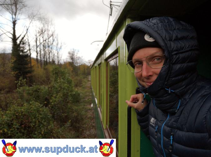 Die Höllentalbahn ist ein Ausflugsziel für die ganze Familie. Sie führt von Reichenau nach Rax. Hier die schönsten Fotos, Fotoblogg im Herbst