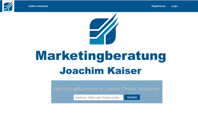 Marketing Webinare Akademie