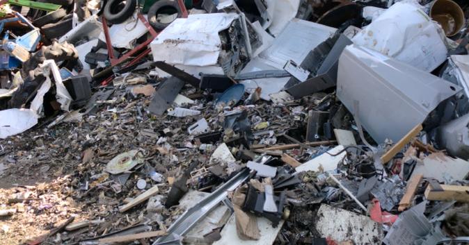 複合廃棄物の処理