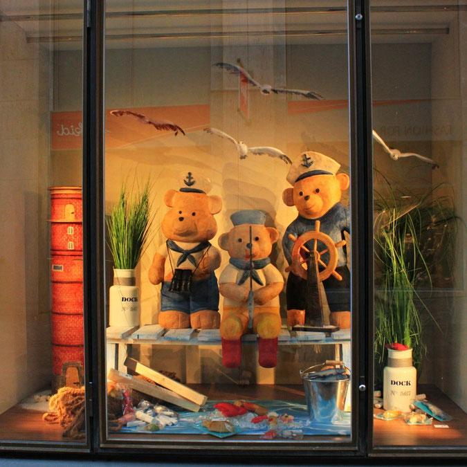 Schaufenster der Fa. Niederegger in Lübeck