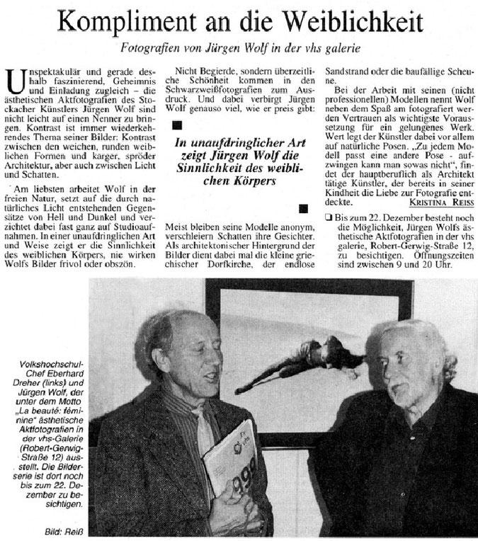 SÜDKURIER, 23.11.1999