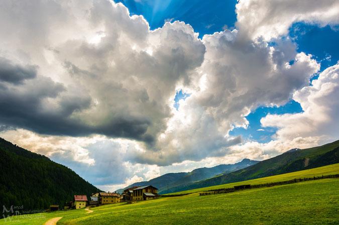 Melag und ein krasser Himmel