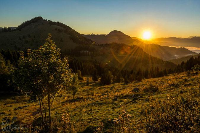 Sonnenaufgang... Guten Morgen Bayern
