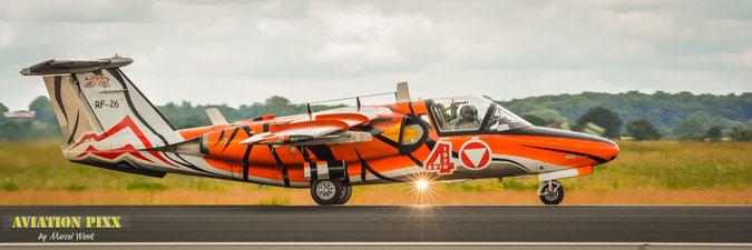 Saab-105 aus Österreich (Klick für Vollbild)