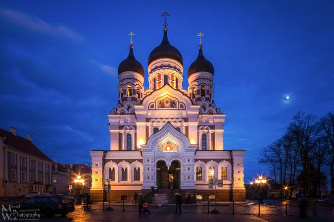 Das Jahr beende ich mit einem Bild der Alexander-Newski-Karthedrale die auf dem Tallinner Domberg mit ihren Zwiebeltürmen eines der Wahrzeichen darstellt