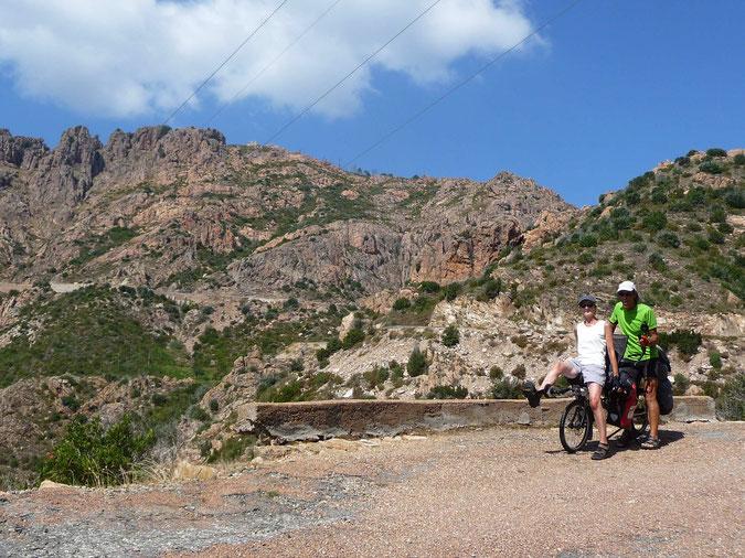 Paysage minéral de l'Alta-Rocca