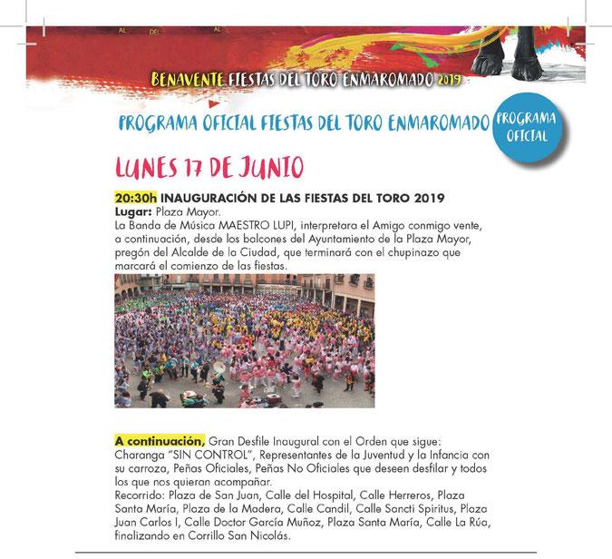 Fiestas del Toro Enmaromado en Benavente