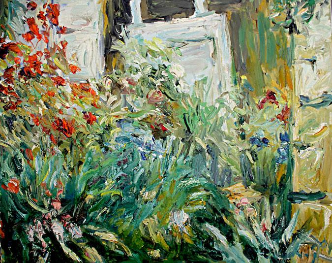 Garten Le Fort   2004, Öl auf LW, 50 cm x 61 cm