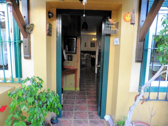 Zugang zu dem Haus