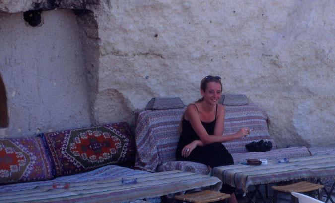 KAPPADOKIEN - CAFE IN DEN FELSEN