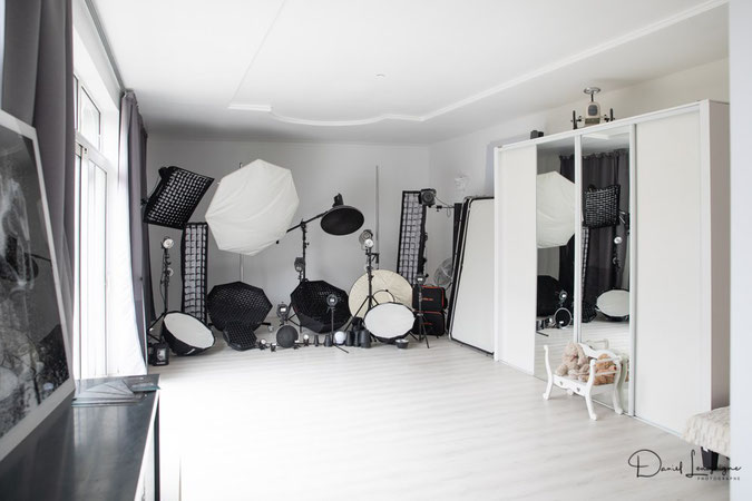 Home studio photo disposant de 4 espaces de shooting