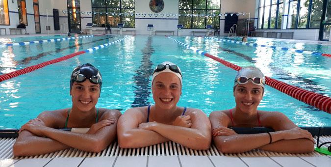 Sara Rizzetto, Carolina Walch und Ester Rizzetto