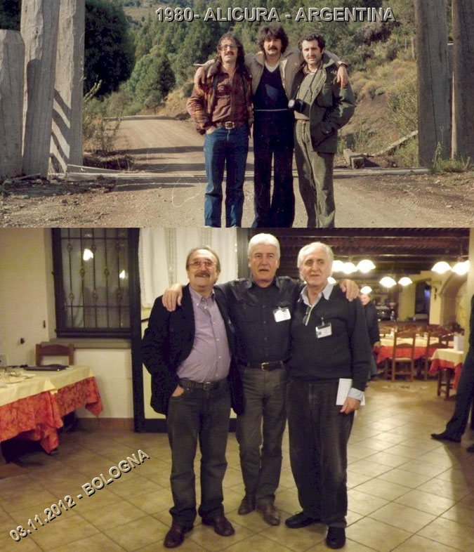Da sinistra: io, Davide Nasci, Cesare Covri