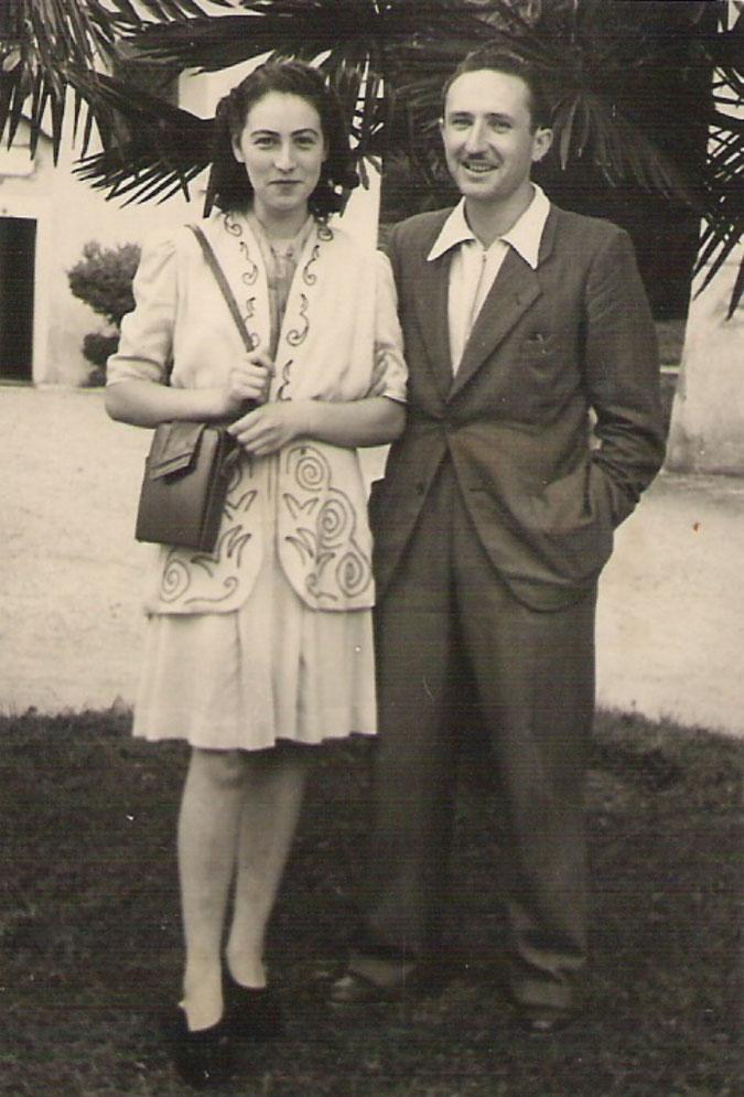 Mia mamma CARMEN CLARA e mio papà EZIO.