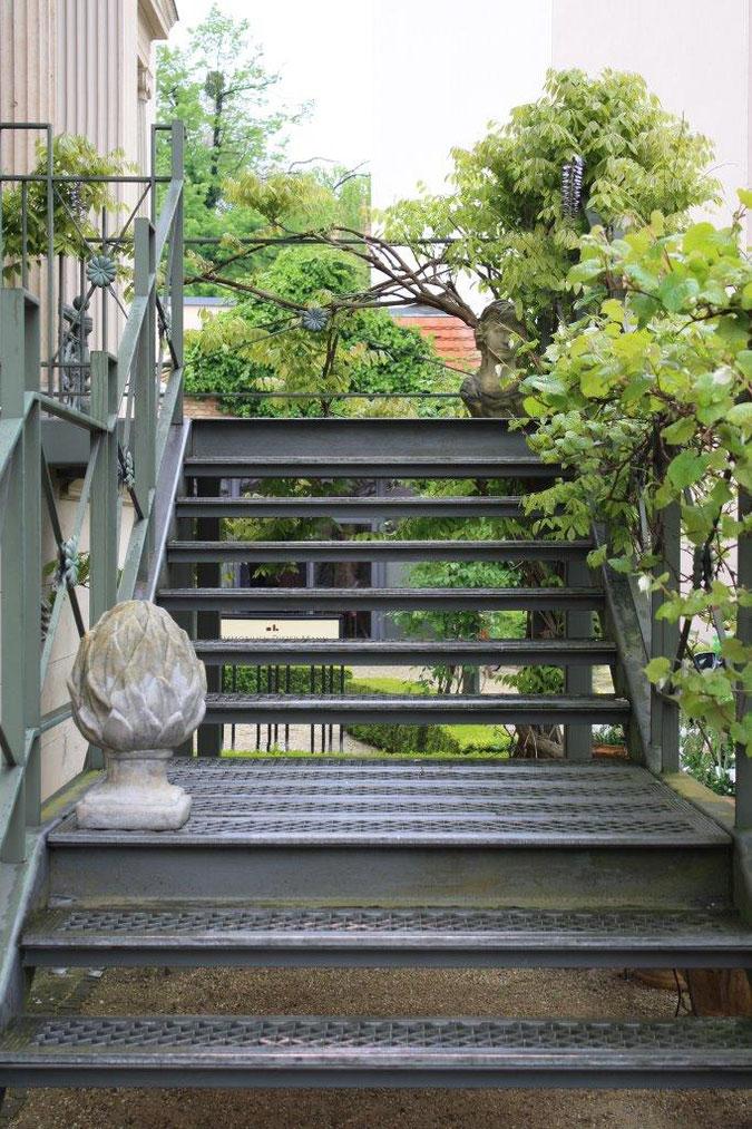 Eisentreppe Villa Bier Palais am Stadhaus Potsdam