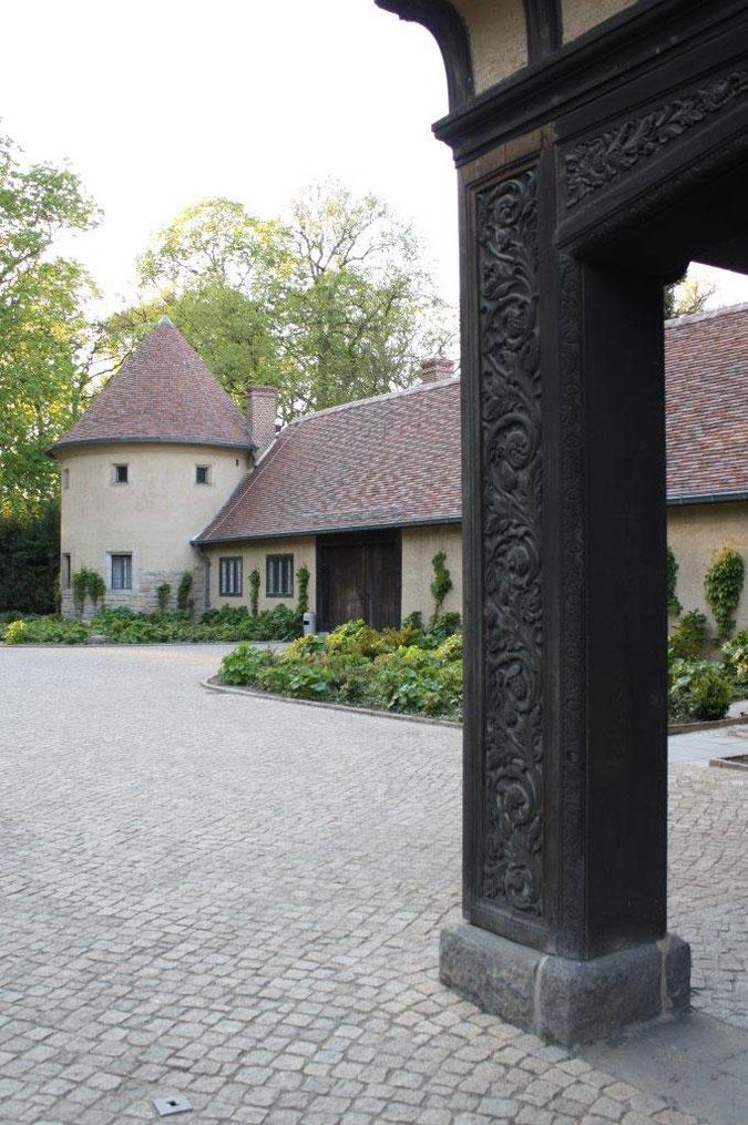 Neuer Garten und Schloss Cecilienhof englische Gartenkunst Ausflug Besichtigung Spaziergang Sommer