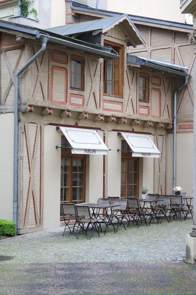 Fachwerkhaus Hofcafe Location Hochzeit Event Potsdam Palais am Stadthaus Wunderkind Archiv Shop Hofcafe Potsdam