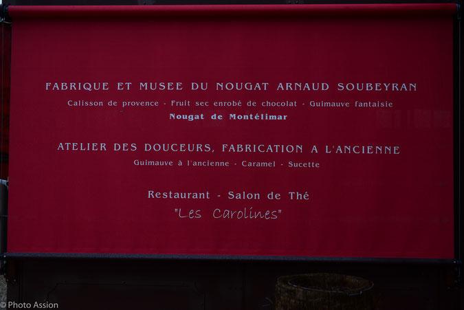 Montelimars. Nougat, Südfrankreich, Provence, Naschereien, Spezialitäten, Lavendel, Süßigkeiten
