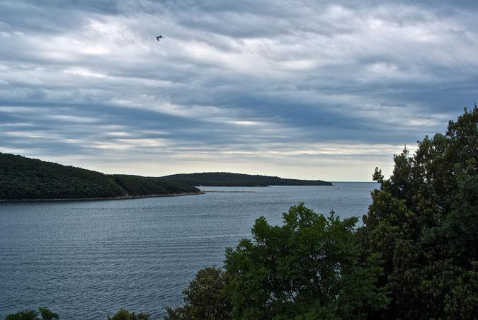 Einmündung zum Limski Fjord