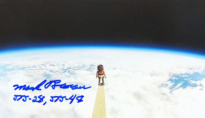 Autograph Mark Brown Autogramm