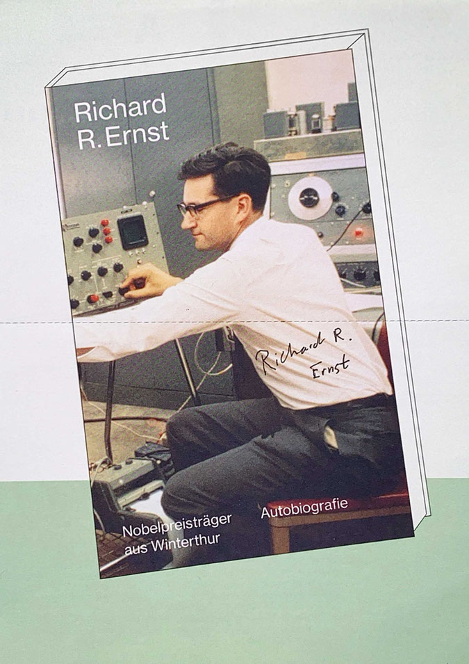 Autograph Richard R. Ernst Autogramm