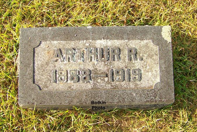 Tombe d'Arthur - Arthur's grave - FindaGrave.com