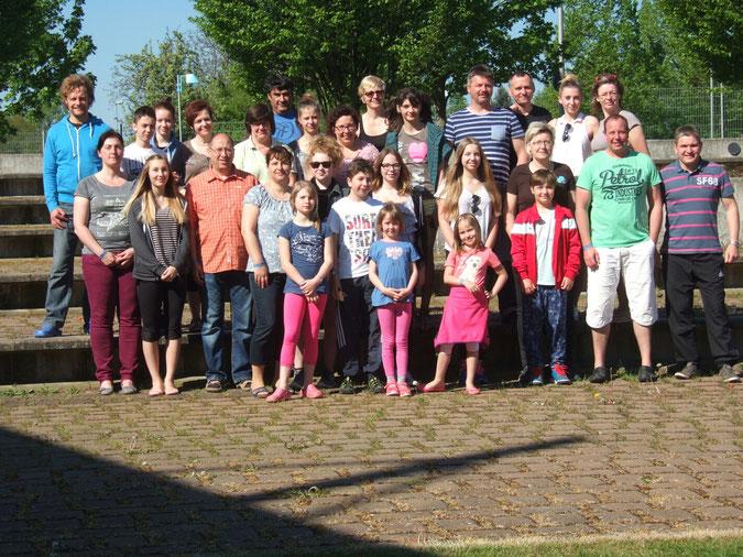 Sommertreffen 2016, organiesiert durch den Elternkreis Sachsen Nord, hier ist der Elternkreis Sachsen-Anhalt Gast. Es macht jedesmal aufs Neue einen riesen Spaß.
