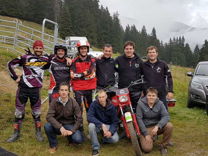 Trial Illgraben - Wallisermeisterschaft in Morgins (VS)