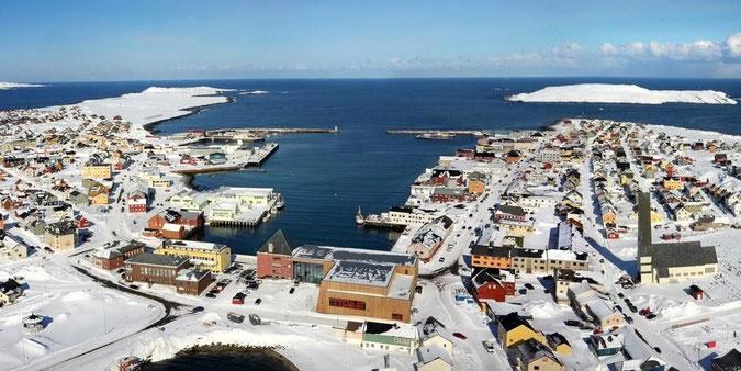 La isla de Vardø, Noruega, en la actualidad