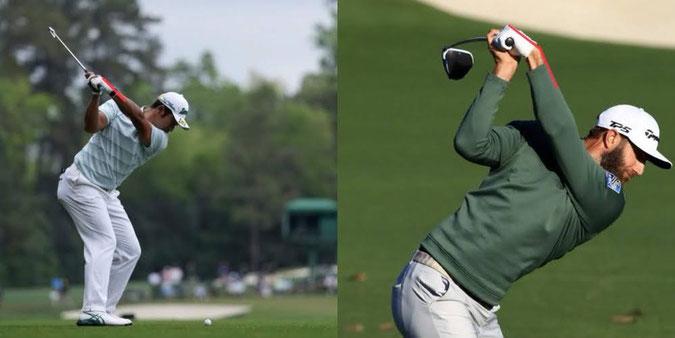 ゴルフ スイング golf swing wrist bow 手首 使い方