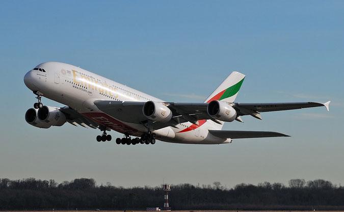 A6-EEL A380-861 133 Emirates @ Milano Malpensa Airport 29.12.2017 © Piti Spotter Club Verona