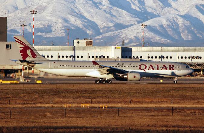 A7-AEA A330-302E 623 Qatar Airways @ Milano Malpensa Airport 29.12.2017 © Piti Spotter Club Verona