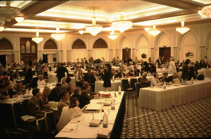 Tagung der Internationalen Walfangkommission (IWC) in Oman (1986)