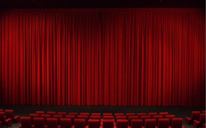 Kinovorhang Bild