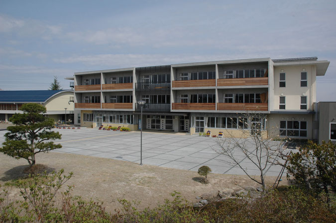 須賀川市立大東中学校校舎改築建築主体工事