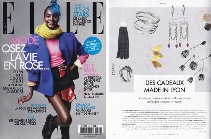 article ELLE - n°3597 - 5 décembre 2014