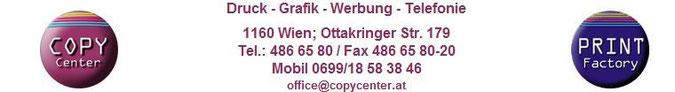 Druck Grafik Werbung Telefonie 1160 Wien Ottakringer Str. 179