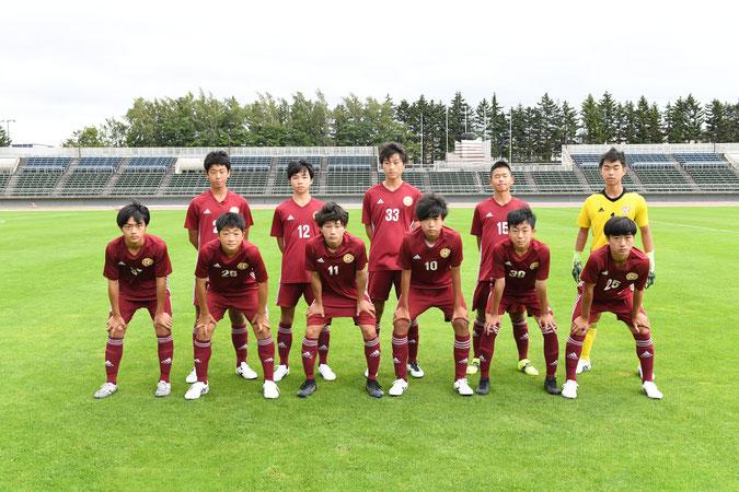 札幌市 サッカー 白石区 豊平区 東区 体験 スポーツ 北海道 D 中学 U15