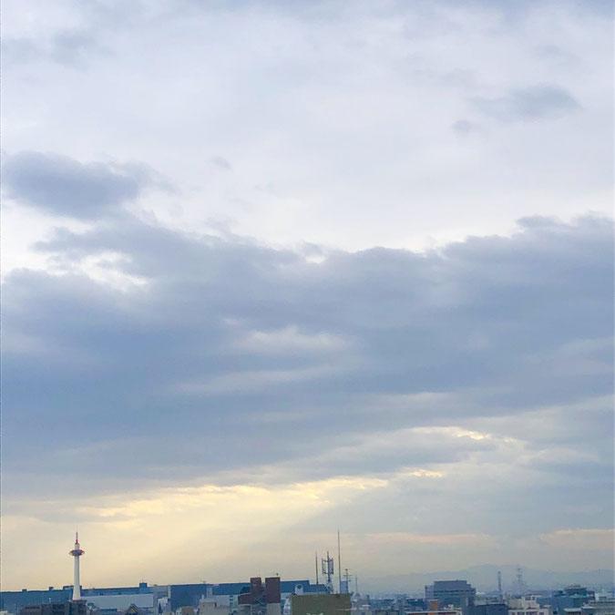 京都市下京区四条烏丸のメンタルクリニック、女医のいる心療内科、雲と光、京都タワー