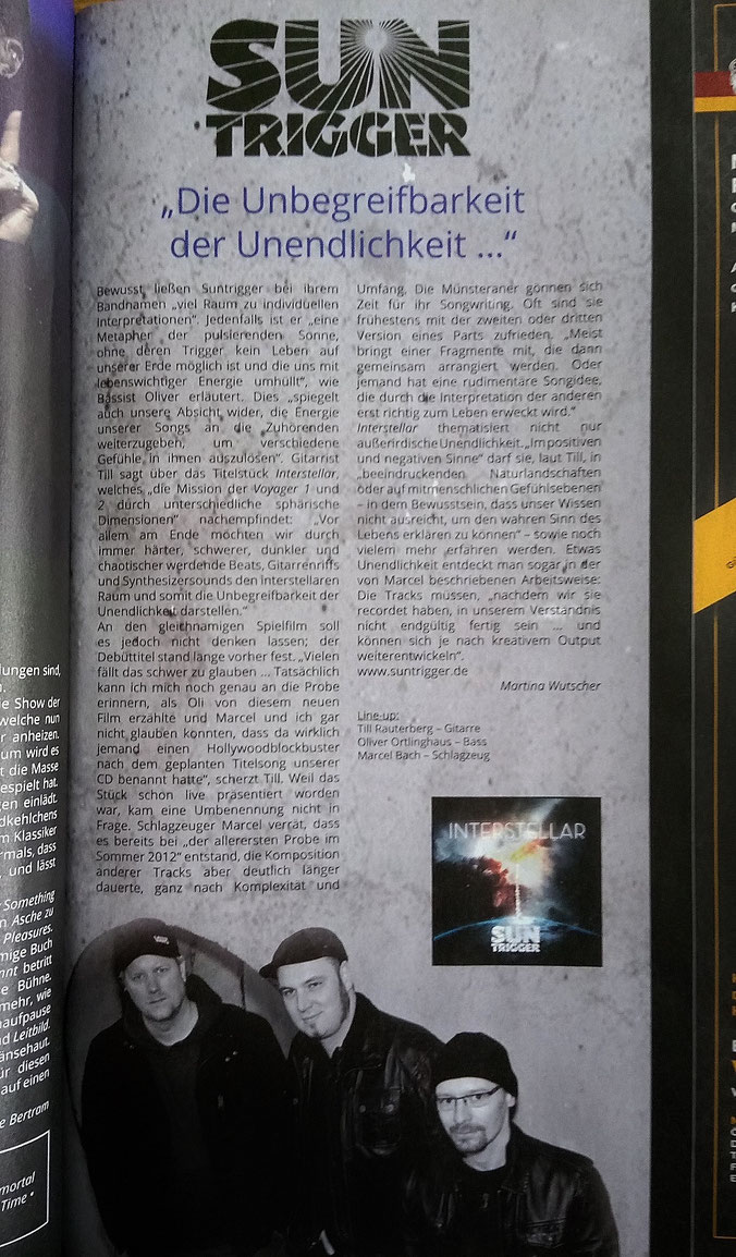Interview im Orkus Magazin