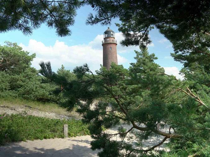 Leuchtturm am Darsser Ort