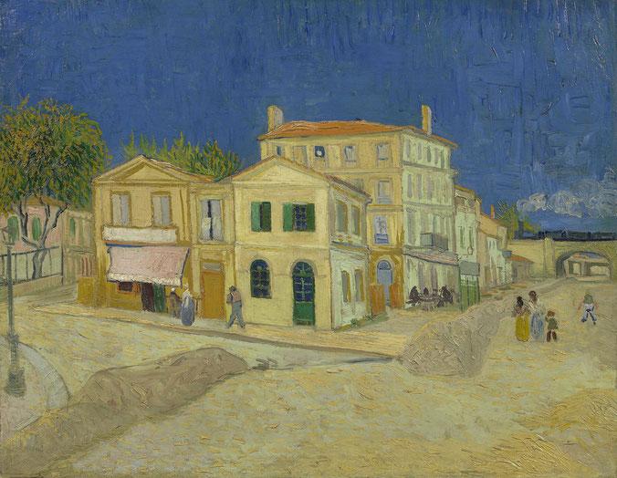 フィンセント・ファン・ゴッホ「黄色い家」(1888年)