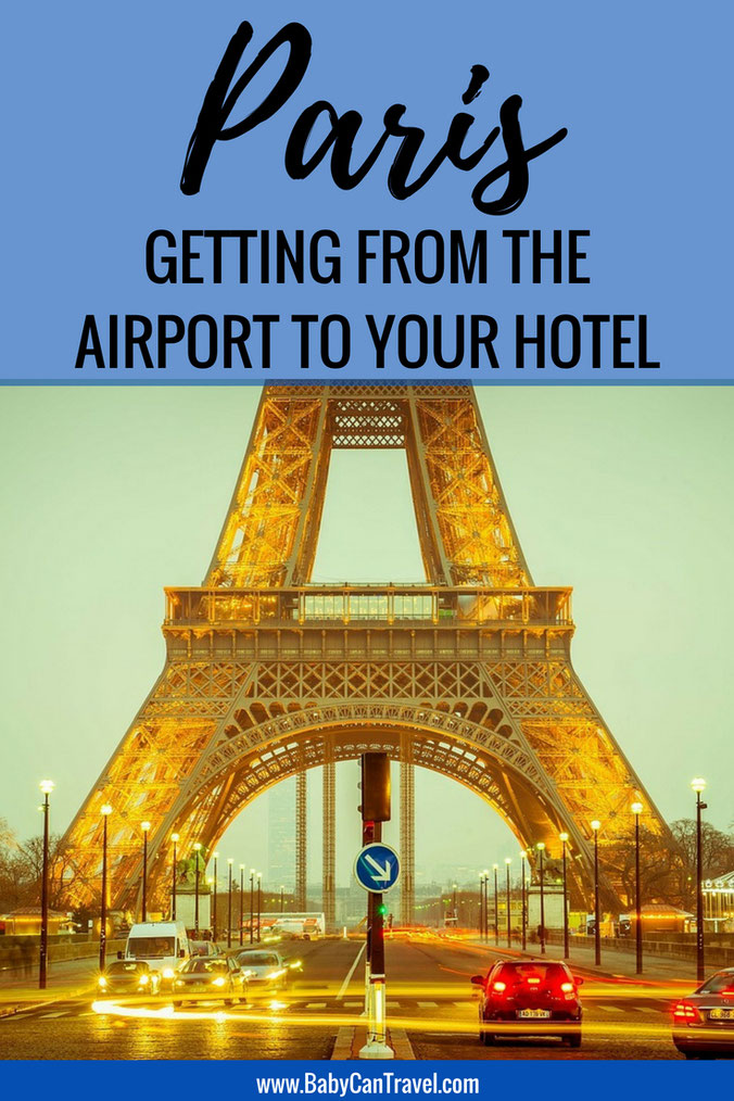 Wondering how to get from the CDG Airport in Paris to your hotel? We have all the options here (including how to get a car seat).  | Travel with Baby | Family Travel | Paris #paris #familytravel #france