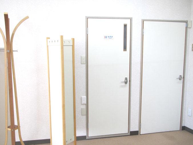 施術前に、トイレに行かれる方は遠慮なく。