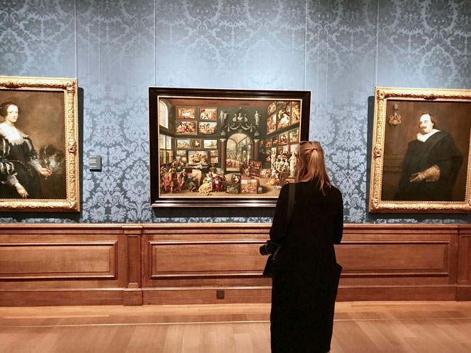 The Hague Netherlands ofpenguinsandelephants of penguins & elephants museum Mauritshuis Rembrandt