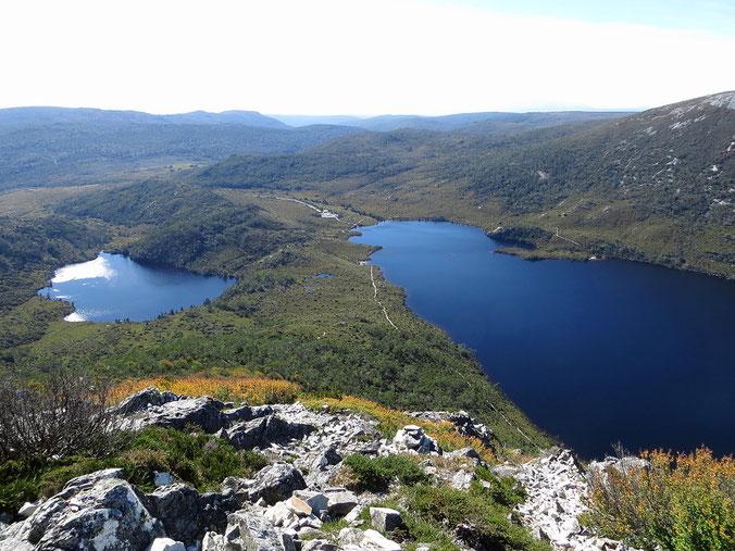 Wir haben das Wandern in den Cradle Mountains sehr genossen.