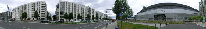 Frankfurt am Main - Gallus - Europa Allee / Stockholmer Str.